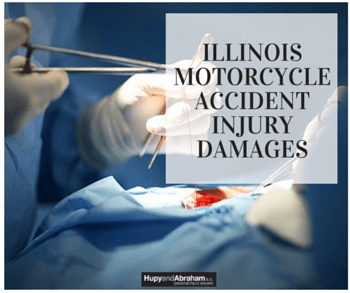 You may be eligible to demand compensation for more than medical bills after an Illinois motorcycle collision