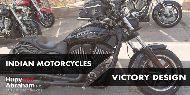 Indian Motorcycles Victory Design with bike