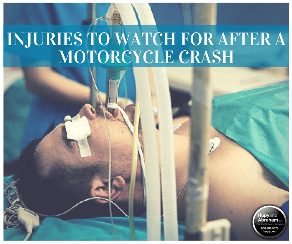 The injuries from a motorcycle crash can be life-threatening
