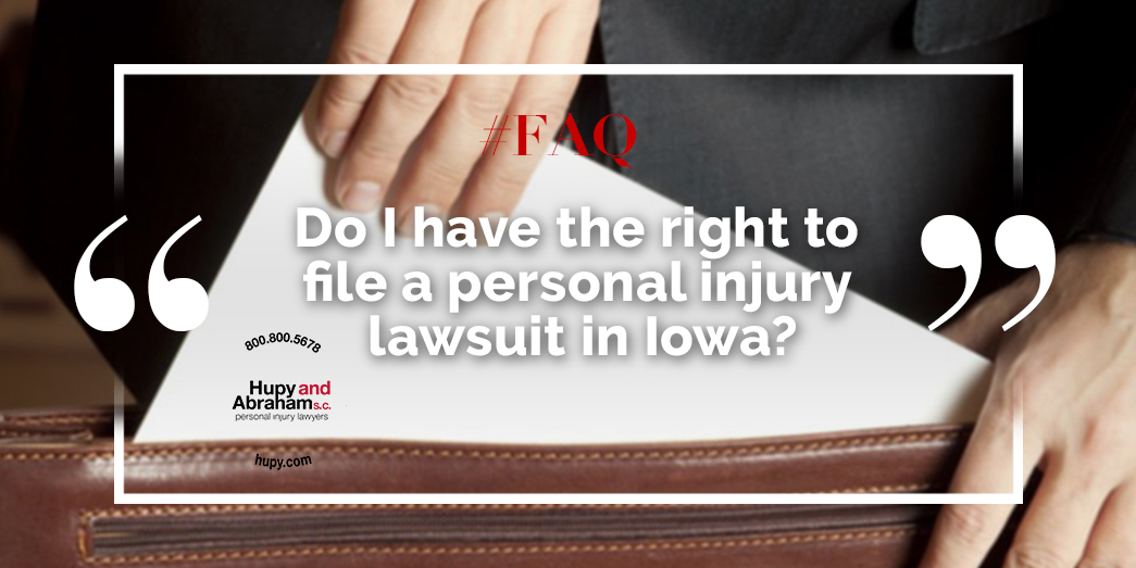 Legal Right To File A Personal Injury Lawsuit
