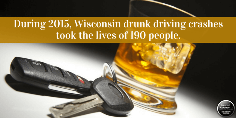 Driving while intoxicated is a frequent cause of wrongful death claims in Wisconsin