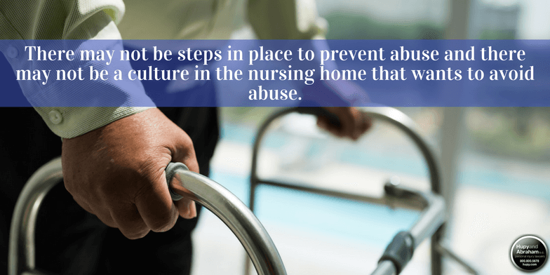 Persons with dementia are more likely to become victims of abuse or neglect in nursing homes