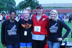 Hupy and Abraham Sponsors & Participates in J.J. Watt Run/Walk