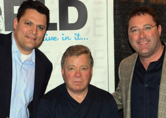 Jason Abraham, Chad Kreblin and William Shatner