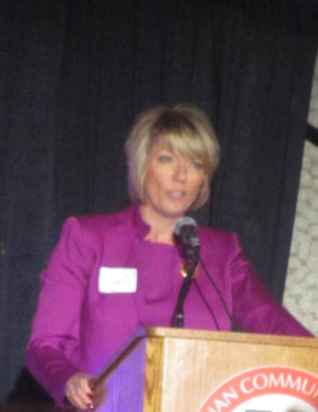 Joyce Garbayciak at Wisconsin Breast Cancer Showcase