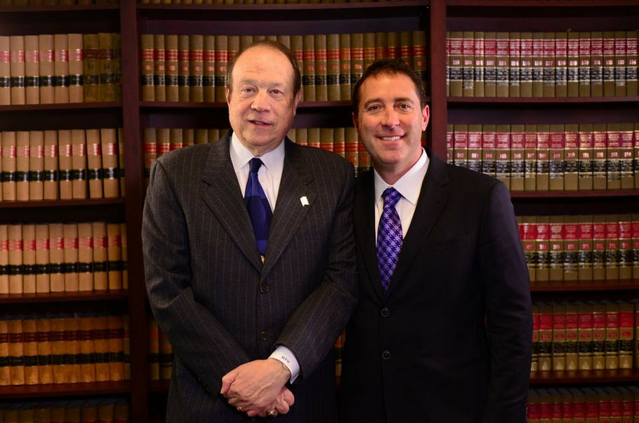 Attorney Jason Abraham and Michael Hupy