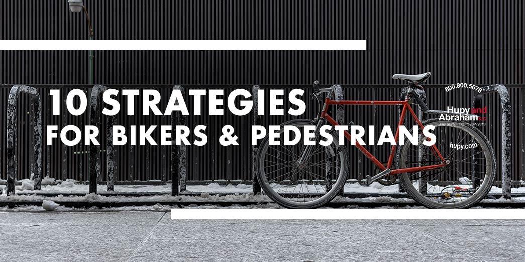 Safety Strategies For Bikers & Pedestrians