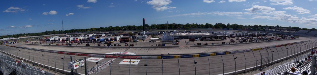 The Milwaukee Mile Speedway