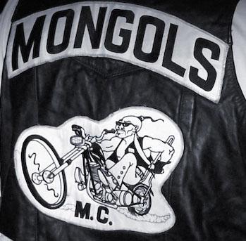 Mongols biker vest