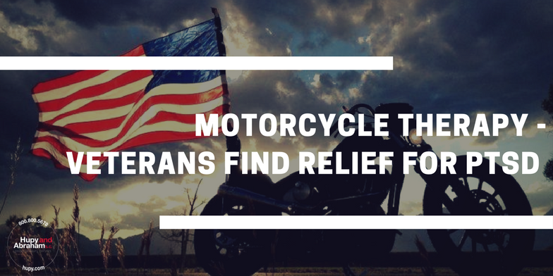 Motorcycle Therapy - Veterans Find Relief for PTSD