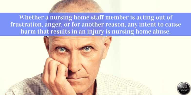Residents may be deeply hurt by nursing home neglect or abuse