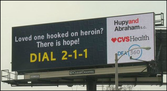Opioid Billboard