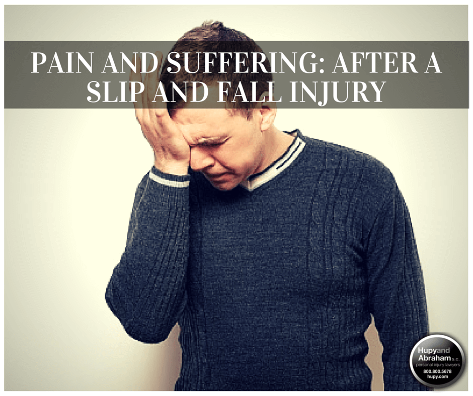 A slip, trip, or fall can cause enduring pain and suffering