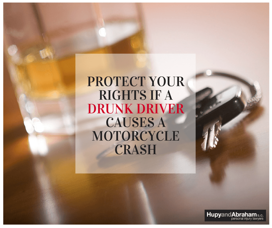 Protect Your Rights If a Drunk Driver Causes a Motorcycle Crash