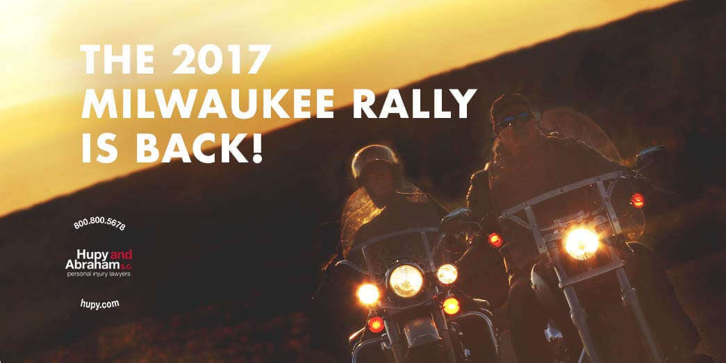 Join Hupy and Abraham in celebrating the 2017 Milwaukee Rally!