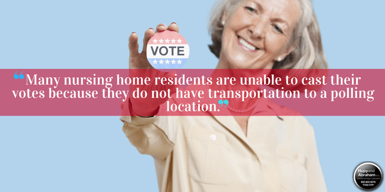 Nursing home residents' voting rights