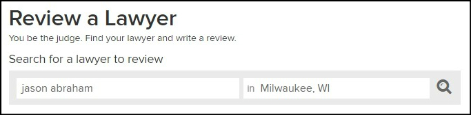 Review a Lawyer on Avvo