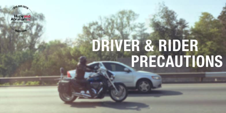 Image Representing Distracted Drivers Don't See Motorcyclists
