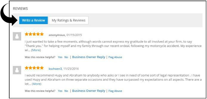 Reviews on SuperPages