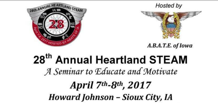 28th Annual Heartland STEAM seminar logos