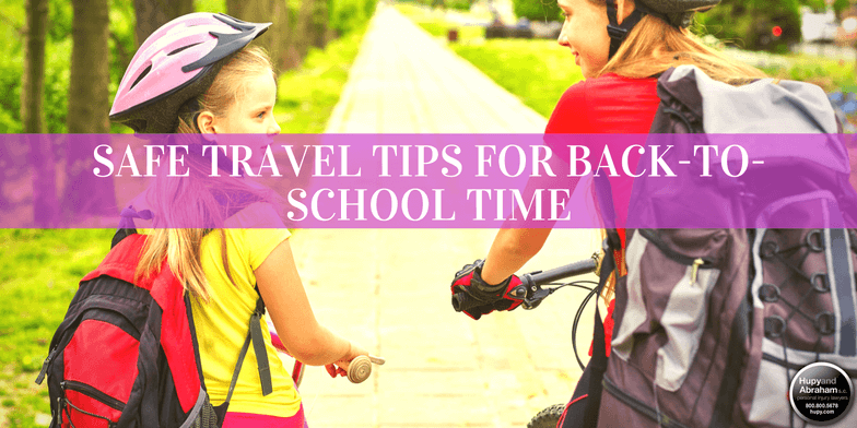 Back-to-school time see's the most child pedestrian accidents. Read these tips to keep kids safe!
