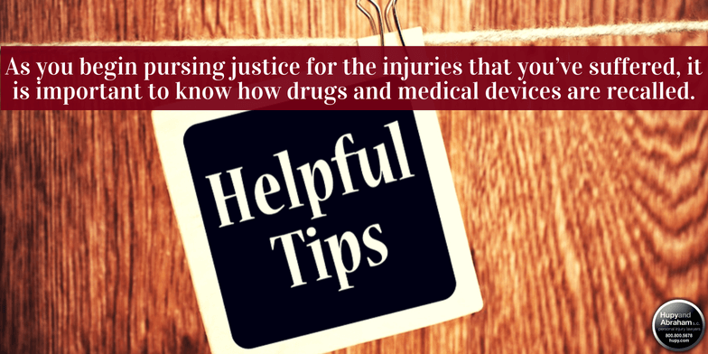 There are tips you need to know to pursue fair compensation after a medical device or drug injury