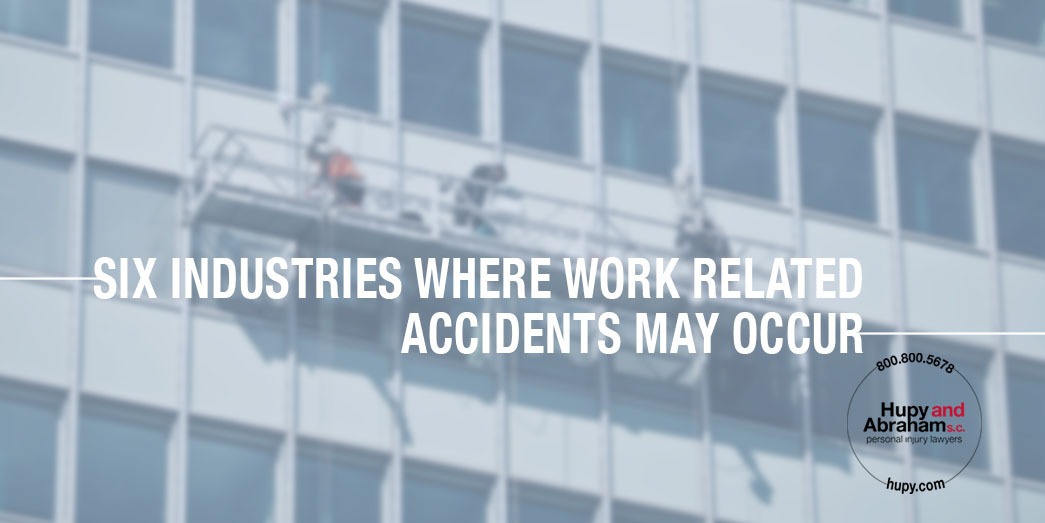 Six Industries at higher rist of work accidents
