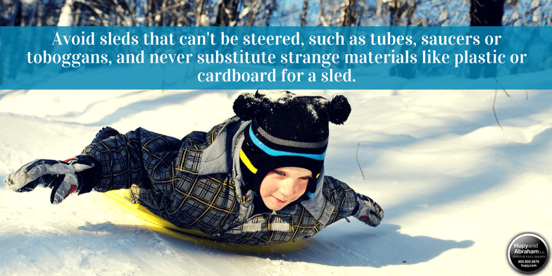 Check out these tips to keep sledders safe.