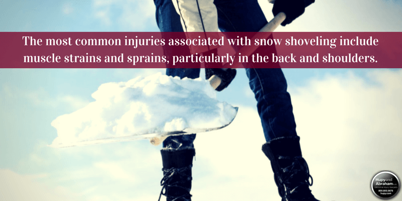 Snow Shoveling Safety