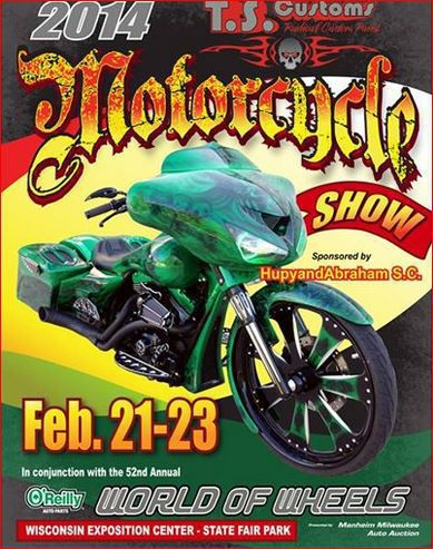 Flyer of the 2014 Motorcycle Show