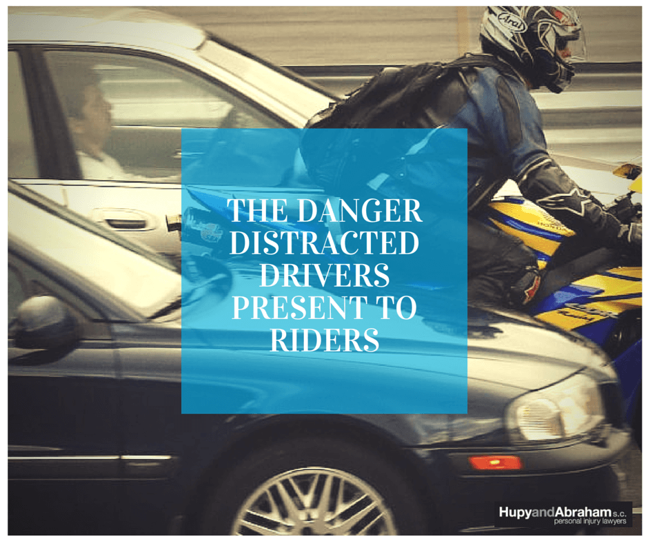 The Danger of Distracted Drivers Present to Motorcyclists