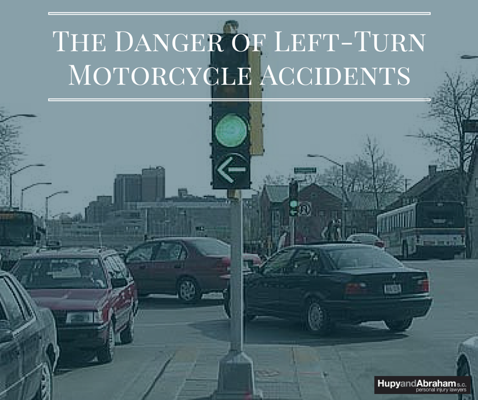 The Danger of Left Turn Motorcycle Accidents