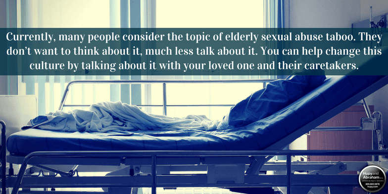 Staff and medical personnel can be responsible for nursing home sexual abuse.