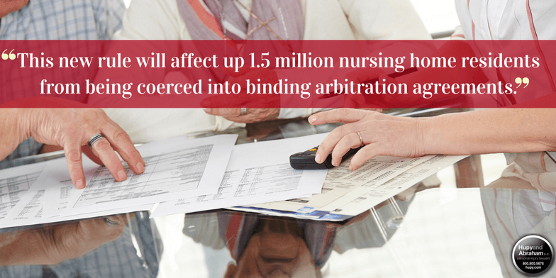 This new ruling will prevent victims of nursing home abuse and neglect from forced arbitration.