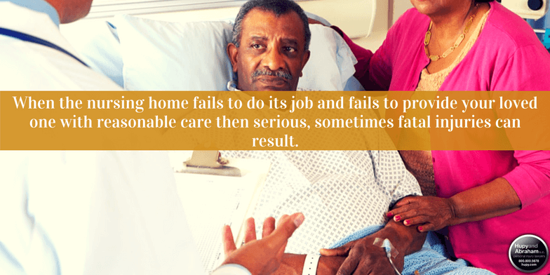 Be alert to common injuries that can result from abuse or neglect in a nursing home