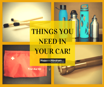 Items WI Drivers Need in Their Cars