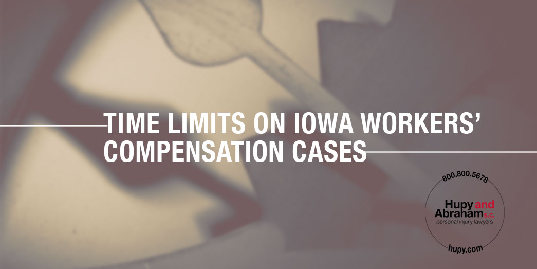 time limits on iowa workers compensation cases