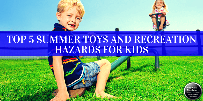 Here are 5 summer toys and activities that are most likely to cause harm.