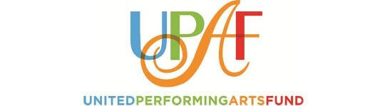 Banner of United Performing Arts Fund