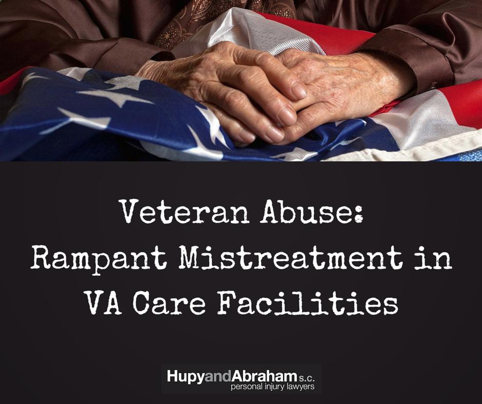 Hands of a Veteran holdingn an American flag