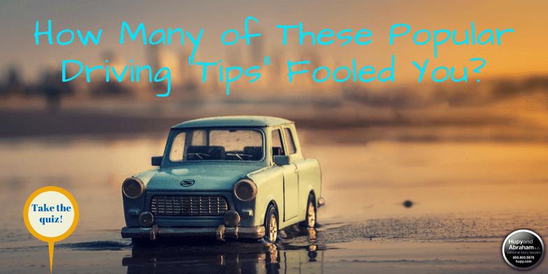 Take the April Fools' driving quiz!