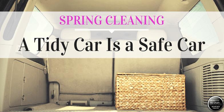 A Tidy Car is a Safe Car