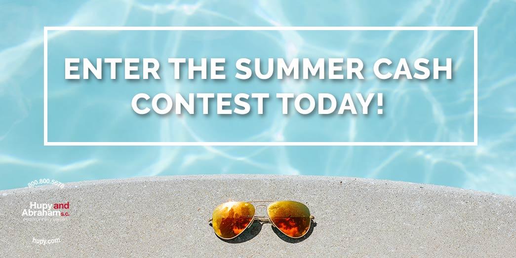 Summer Cash Contest promotion