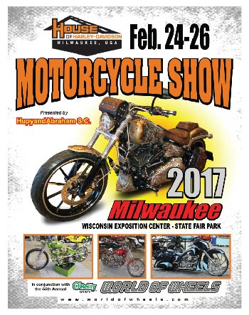 Motorcycle show flyer