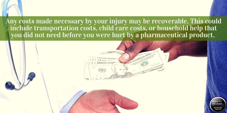 A pharmaceutical injury claim may allow you to pay medical expenses related to the injury