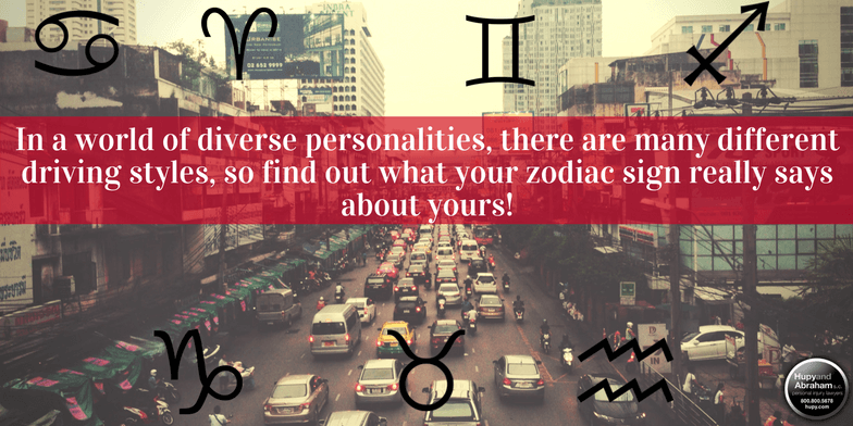 the zodiac driving guide what your sign says about your driving
