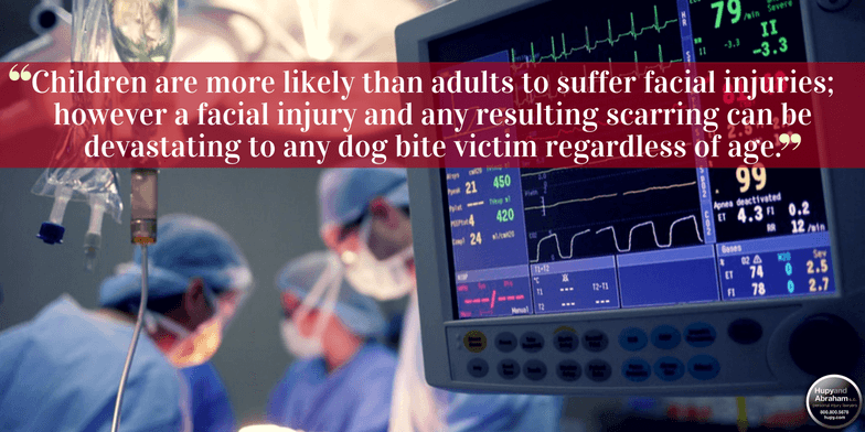 Dog attacks can cause critical, life-changing injuries