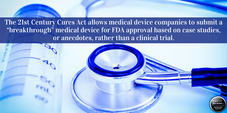 21st Century Cures Act and Medical Devices