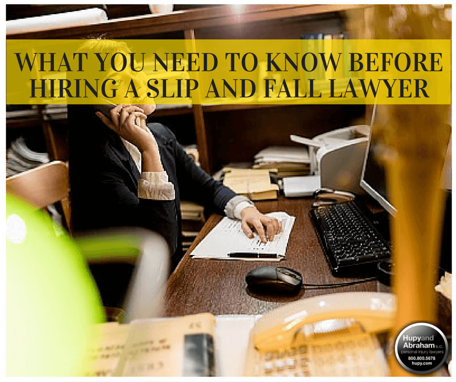 An experienced attorney may be your best asset after a slip and fall injury
