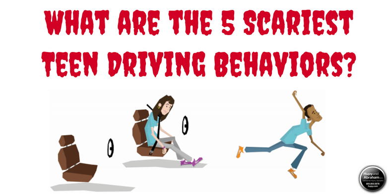 5 Most Dangerous Teen Driving Behaviors